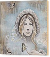 Winter's Dream Wood Print