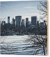 Winter's Touch - Manhattan Wood Print