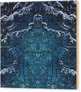 Winterscape 2 Wood Print