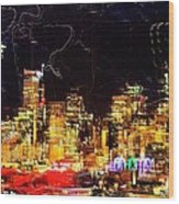 Wired Seattle Wood Print