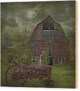 Wisconsin Barn 3 Wood Print