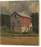 Wisconsin Barn Wood Print