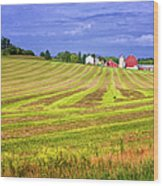 Wisconsin Dawn Wood Print
