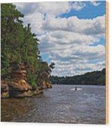 Wisconsin Dells Jetski Wood Print