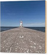 Wisconsin Point Lighthouse 6 B Wood Print