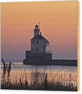 Wisconsin Point Lighthouse - Fs000216 Wood Print