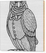 Wisdom Owl Wood Print
