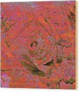 Wisdom Pearls Wood Print