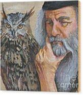 Wise Guys Wood Print