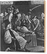 Wise Men Of Gotham, 1776 Wood Print