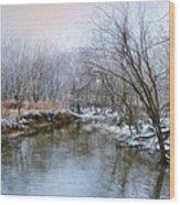 Wish I Had A River Wood Print