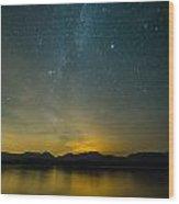 Wish Upon A Star Wood Print