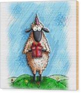 Wishing Ewe  Wood Print