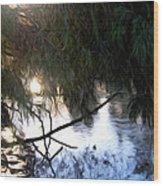 Wishkah River Wood Print