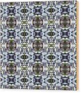 Wisteria  Flower Pattern Wood Print