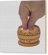With A Grain Of Salt - Featured 3 Wood Print by Alexander Senin