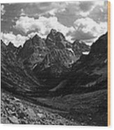 Within The North Fork Of Cascade Canyon Wood Print