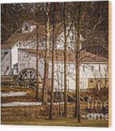 Wolcott Mill Wood Print