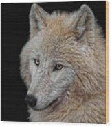 Wolf Bride Wood Print