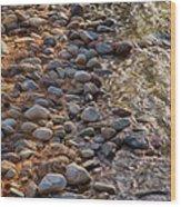 Wolf Creek Upstream Wood Print