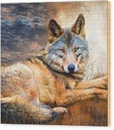 Wolf - Spirit Of Truth Wood Print