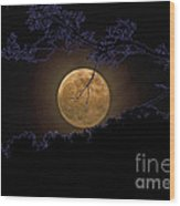 Wolfbane Moon Wood Print