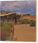 Wolfe Ranch Wood Print