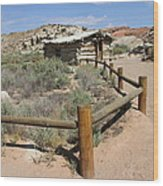 Wolfes Ranch - Arches Nationalpark Wood Print