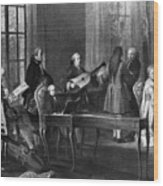Wolfgang Amadeus Mozart (1756-1791) Wood Print