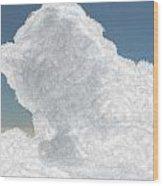 Wolkentoren Cloud Wood Print
