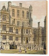 Wollaton Hall, Nottinghamshire, 1600 Wood Print