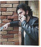 Wolverine Inspired Wood Print
