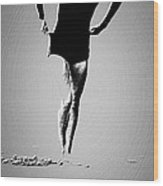 Woman Emerging -- Version A Wood Print by Brian D Meredith