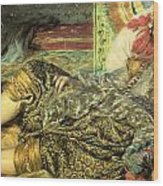 Woman Of Algiers Wood Print