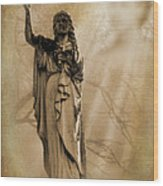 Woman The Forgotten Series 08 Wood Print