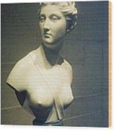 Womans Bust Wood Print