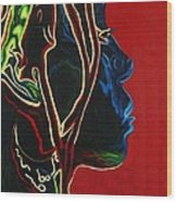 Womans Essence  Wood Print