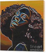 Womans Essence II              Wood Print