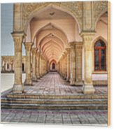 Woman's Mosque Wood Print