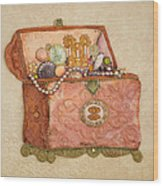 Womans Treasures Wood Print