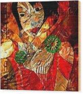Women  0361 - Marucii Wood Print