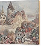 Women At The Siege Of Marseille Wood Print