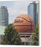 Women's Basketball Hall Of Fame Knoxville Tennessee Wood Print