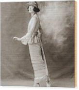 Women's Fashion, C1910 Wood Print
