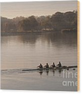 Women's Four On The Chester River Wood Print
