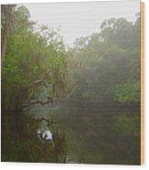 Wonder Of The River Wood Print
