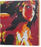 Wonder Woman - Sister Inspired Wood Print