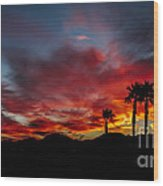 Wonderful  Sunrise Wood Print