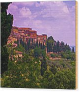 Wonderful Tuscany Wood Print