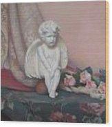Wondering Cupid Wood Print